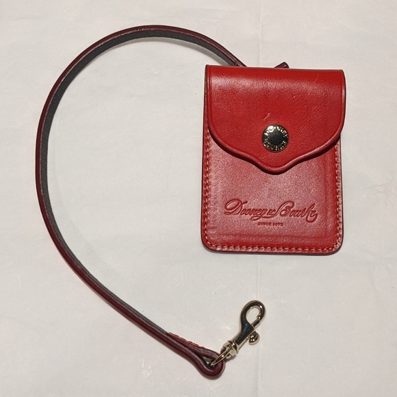 Dooney & Bourke Leather ID Holder.